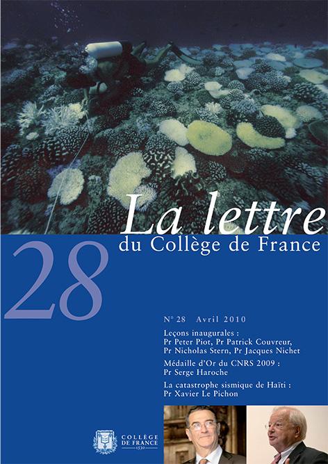 Lettre N 28 La Lettre Du College De France College De France