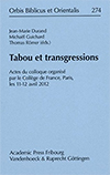 Tabou et transgressions